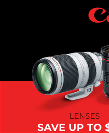 Canon Holiday Savings still in effect