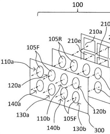 Canon Patent Application: Multiple lens camera system