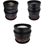 Deal: Rokinon T1.5 Cine Lens Bundle for Canon EF-Mount