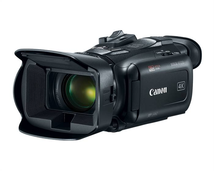 Canon announces the VIXIA HF G50 4K UHD Video Camcorder