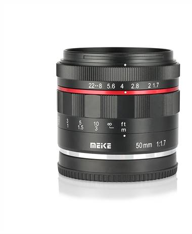 Meike releases the 50mm 1.7 for the Canon EOS RF mount