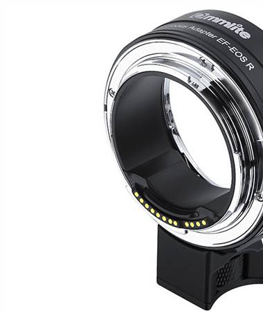Commlite EOS RF mount to EF lens adapter