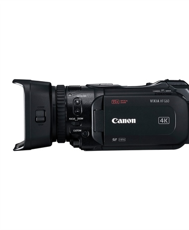 Images of the upcoming HF G60 camcorder