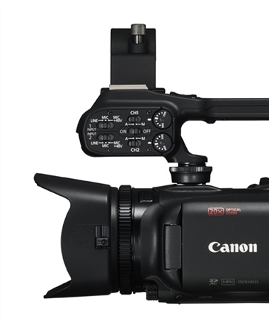Four New Canon XA Professional Camcorders Feature 4K 30p High-Quality...