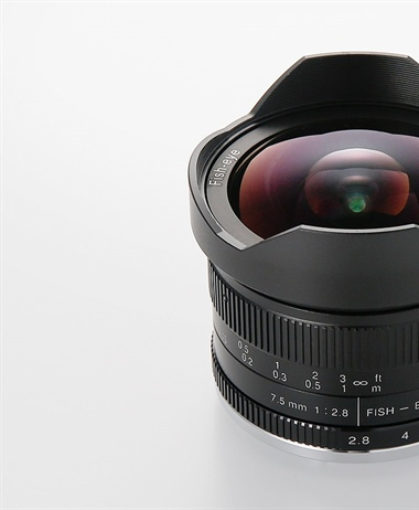 7Artisans announces 7.5mm F2.8 Fisheye II