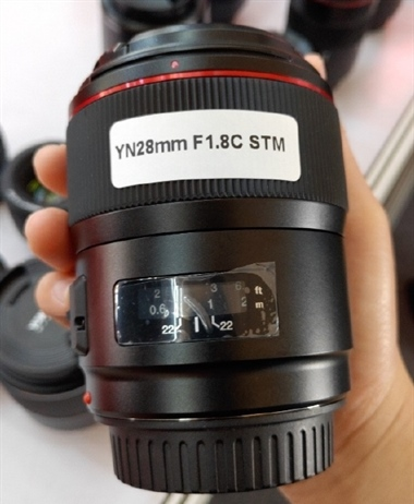 Yongnuo coming out with a 28mm f/1.8C STM for Canon EF