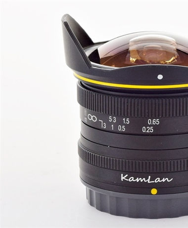 Kamlan 8mm F3.0 to be released shortly for the EF-M mount