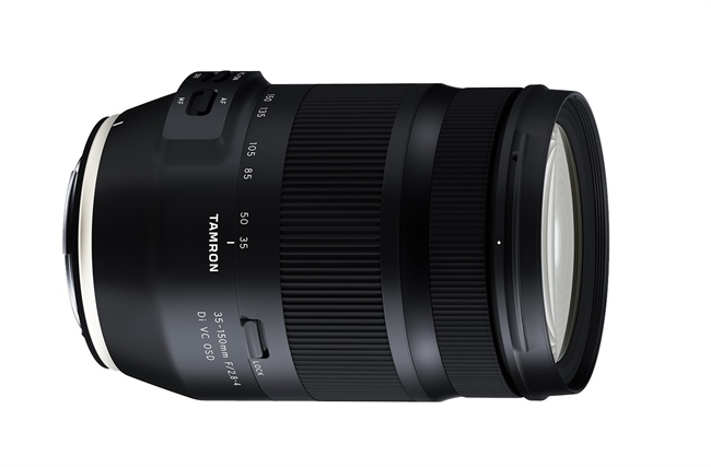 Tamron announces new 35-150mm F2.8-4 for the Canon EF mount