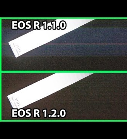 Canon EOS R banding issue - an update