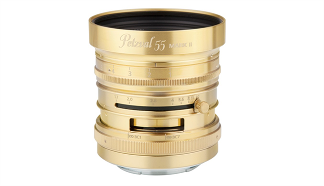 Petzval 55mm f/1.7 MKII Full Frame lens announced for Canon RF