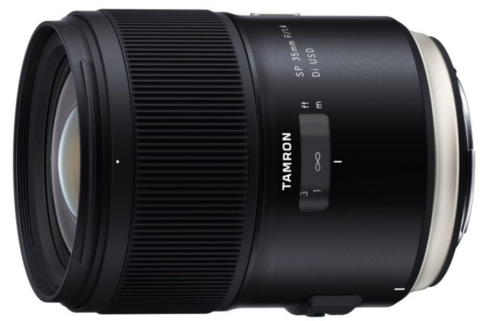 Announcement of the Tamron SP 35mm 1.5 Di USD leaks early