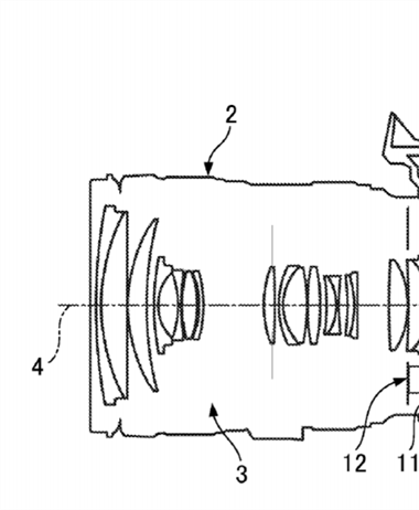 Canon Patent Application: Another IBIS related patent application shows up