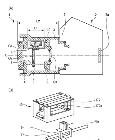 Canon Patent Application: Linear Motor Drive