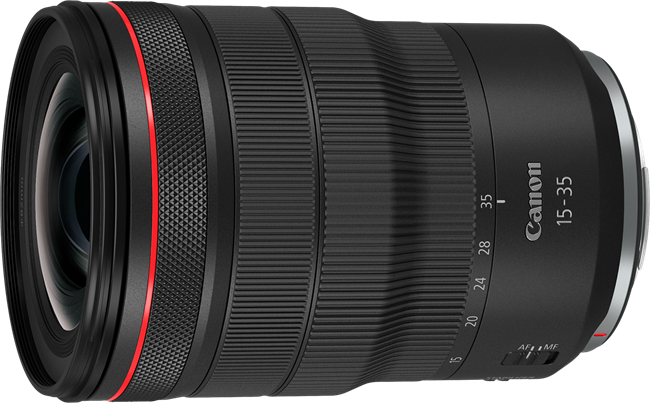 The 15-35mm and the 24-70mm Canon RF lenses are coming soon