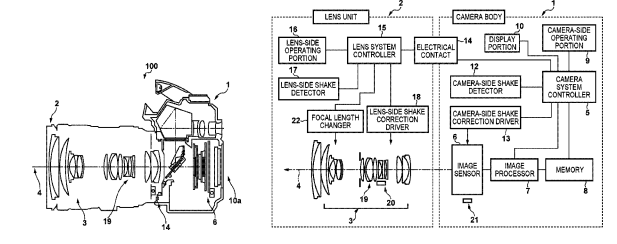Canon Patent Application: Another IBIS related patent application