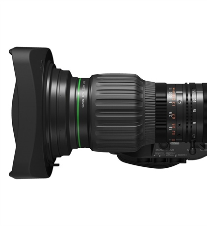 Canon announces the 4K 15x broadcast zoom, CJ15ex4.3B