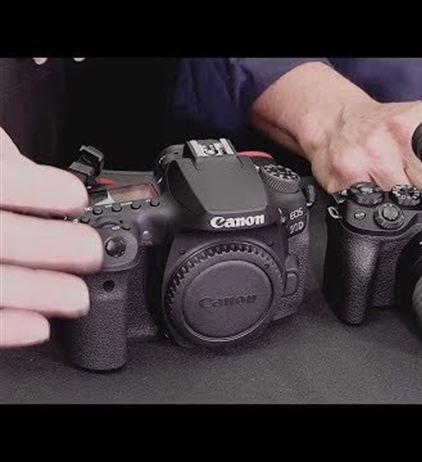 Video discussing latest Canon releases