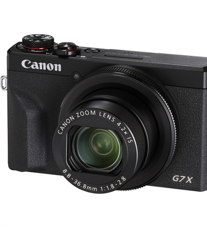 Canon announces firmware update to the G7X Mark III