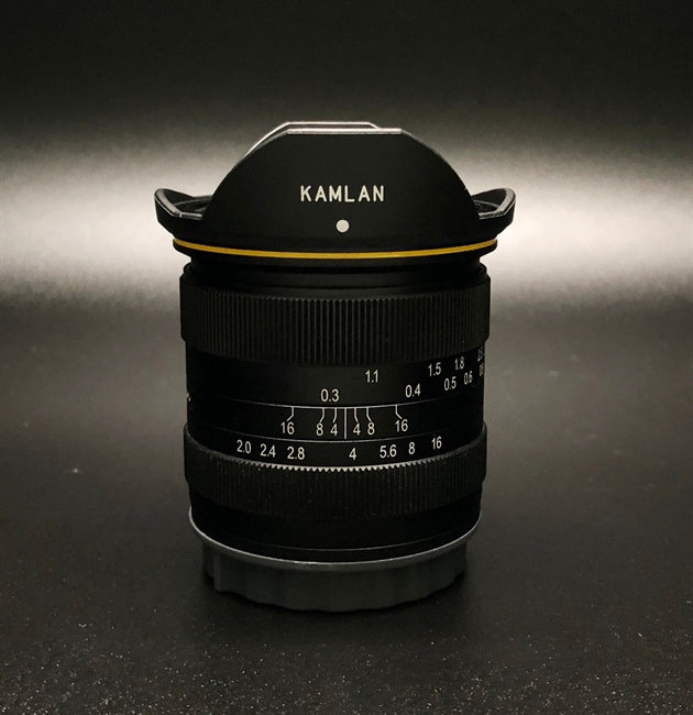 Kamlan announces a 15mm F2.0 for Canon EF-M