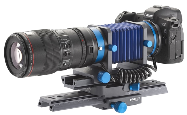 NOVOFLEX launches automatic bellows for the Canon RF mount