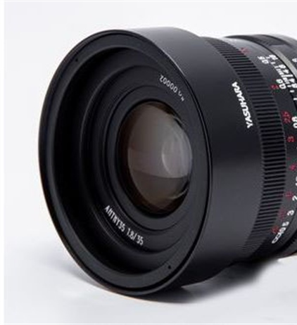 Yasuhara announced the Anthy 35mm F1.8 for the Canon RF mount