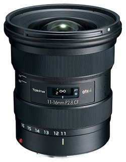 Tokina releasing a new 11-16mm F2.8 for the Canon EF mount