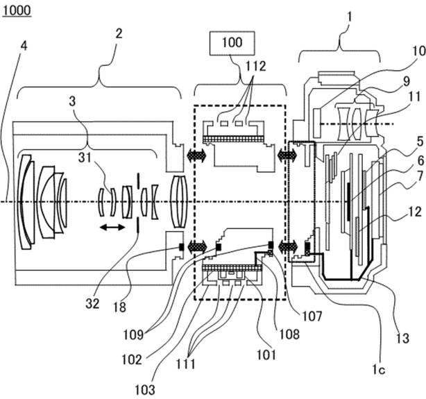 "Canon Patent Application: Canon EF to RF ""sensor cooling"" adapter"