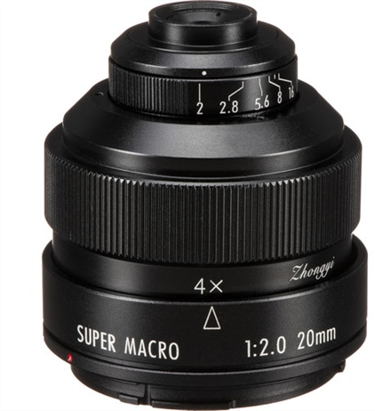 Deal of the Day: Mitakon Zhongyi 20mm f/2 4.5x Super Macro Lens for...