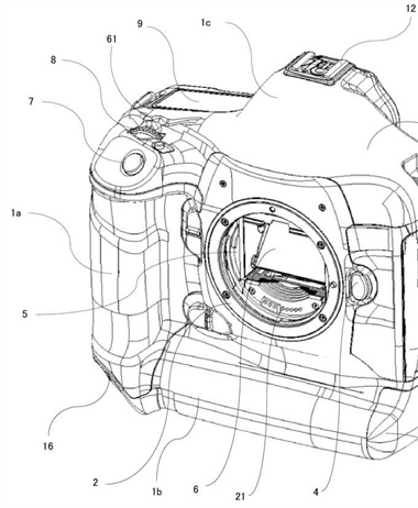 Canon Patent Application: Some possible technical details of 1 series...