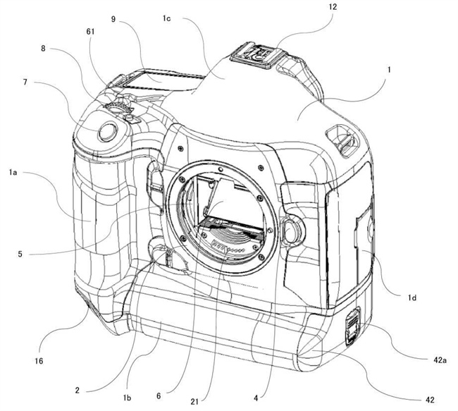 Canon Patent Application: Some possible technical details of 1 series camera cooling