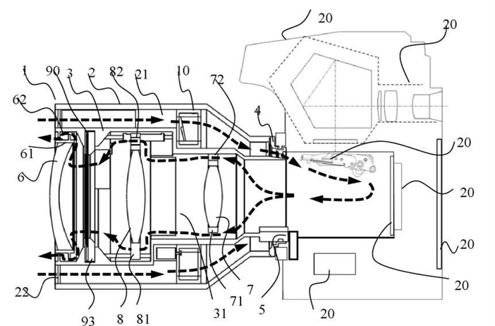 Canon Patent Application: The world's first dirt devil lens
