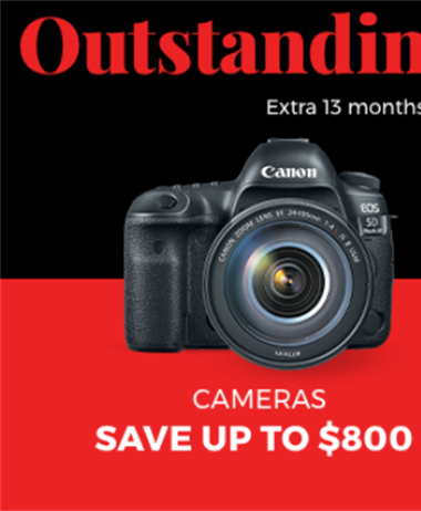 Canon Fall Savings have begun