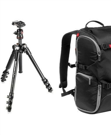 Flash Deal: Manfrotto BeFree Compact Travel Aluminum Tripod and...
