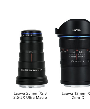 Venus Optics creates three RF mount lenses
