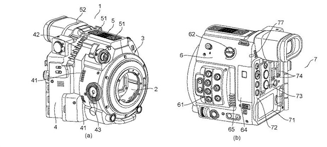 Canon Patent Application: New CINI Camera appears