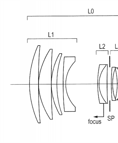 Canon 135mm 2.0L IS USM (and others!) Patent Application