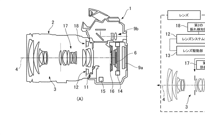 Canon Patent Application: Dual IS Patent Application