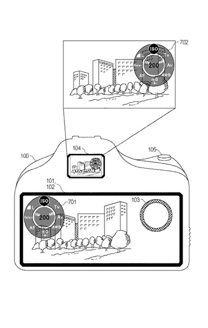 Canon Patent Application: Large LCD Mirrorless