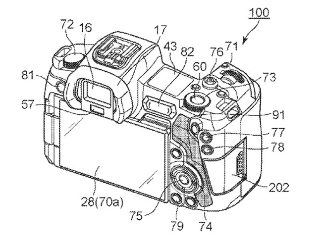 Canon Patent Application: Canon EOS-R m-Fn Bar Patent Applications