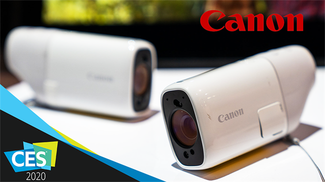 Canon shows new concept cameras at CES 2020