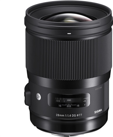 Deal: 28mm f/1.4 DG HSM Art Lens for Canon EF