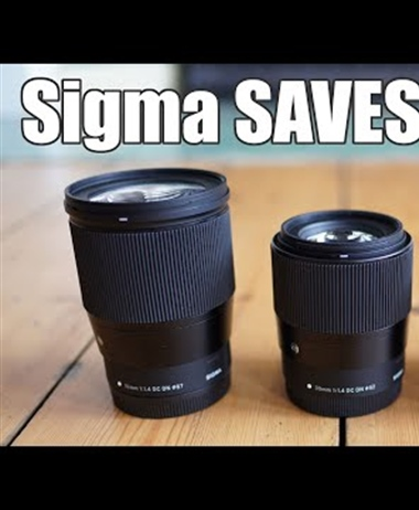 Review of the Sigma EOS-M lenses