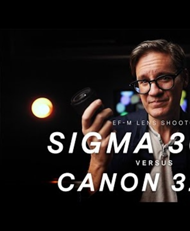 The Canon EF-M 32mm F1.4 versus the Sigma 30mm F1.4
