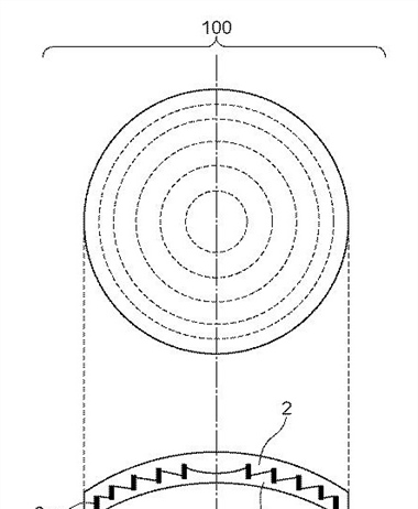 Canon Patent Application: New type of Diffractive Optics element