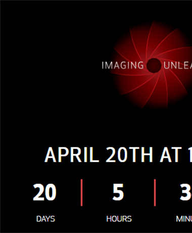 Canon USA is going to livestream it's press conference April 20, 2020