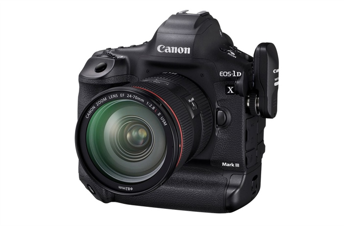 Canon 1DX Mark III firmware released