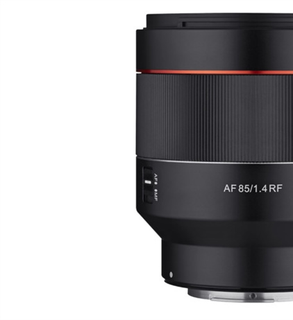 Samyang announces the AF 85mm F1.4 for the RF mount