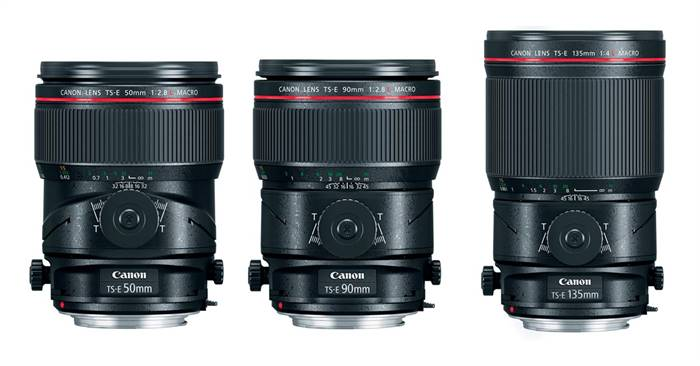 Canon releases camera updates for the new TS-E lenses