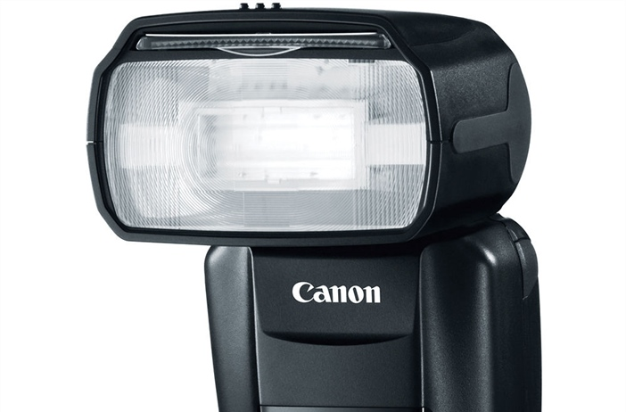 Canon speedlite appears in Certification
