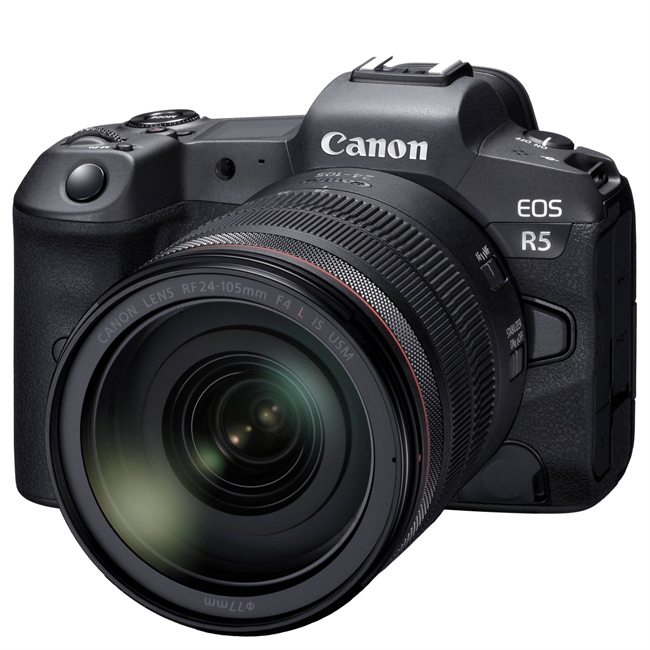 Minor firmware update for the EOS R5